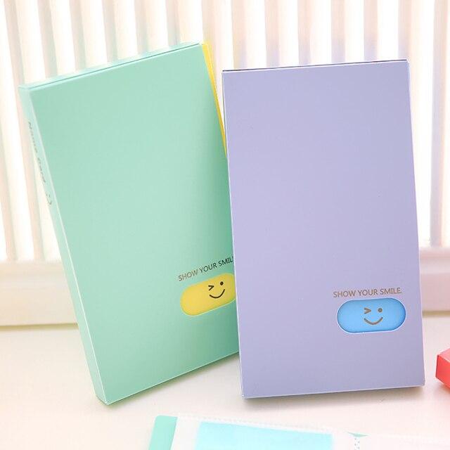 ใหม่แบบพกพา 120 กระเป๋า Photo อัลบั้ม BTS/EXO/GOT7 Lomo Card Photocard ชื่อบัตรนักเรียนสำนักงานชื่อการ์ด