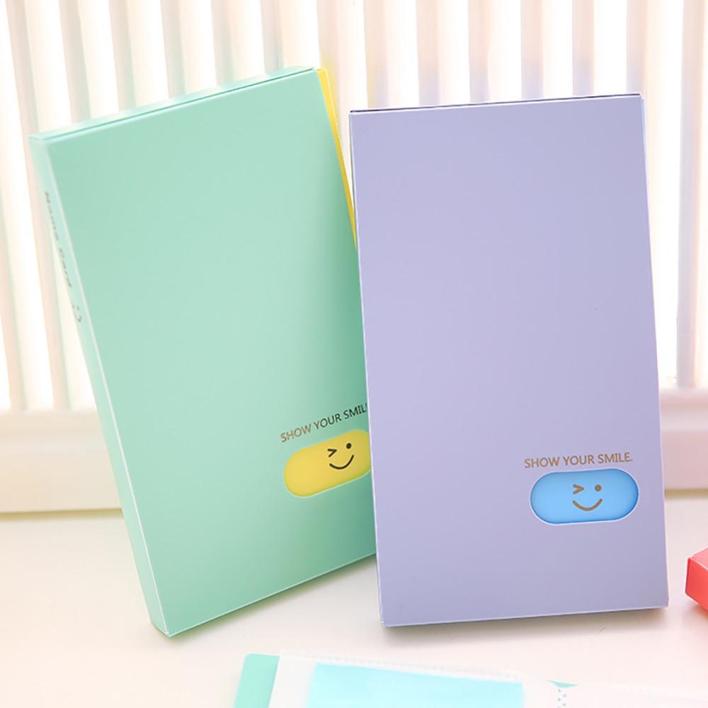 Nouveau Portable 120 poches Album Photo BTS/EXO/GOT7 Lomo carte Photocard nom carte d'identité titulaire étudiant bureau nom carte