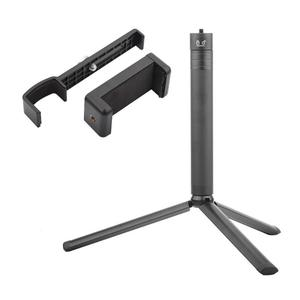 Image 3 - Adaptador de teléfono móvil para Cámara de Acción de trípode de mano portátil extensible Pole Rod Clip abrazadera trípode + varilla de extensión para DJI OSMO Pocket