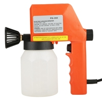 600Ml Large Capacity Electric Air Less Paint Sprayer Hand Held Spray Tool 220V 50Hz 75W 0.5A Eu Plug