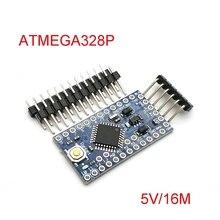Met De Bootloader Pro Mini ATMEGA328P 328 Mini ATMEGA328 5V/16 Mhz Voor Arduino ATMEGA328P Module