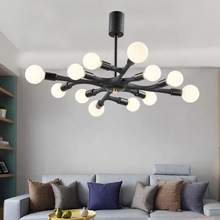 Artpad Nordic Modern LED Ceiling Light for Home Living Room Bedroom Fixtures 110V 220V Hanging Chandeliers Lamps