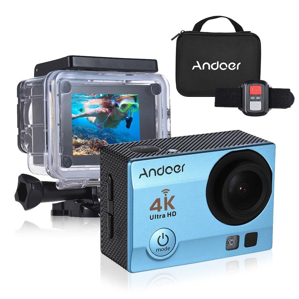 Neueste Kollektion Von Andoer Q3h-r Action Kamera Q3h-r Wifi Ultra Hd Mini Cam 4 K/30fps 170d Unterwasser Wasserdicht 30 M 6 Farben Sport Action Kamera SchnäPpchenverkauf Zum Jahresende Sport & Action-videokamera