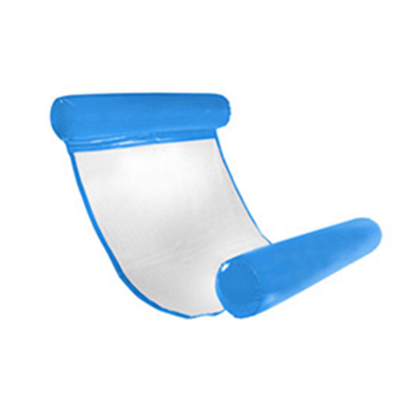 Pvc Lounge Chair Glider Chairs For Outside Summer Swimming Pool Water Hammock Floating Bed