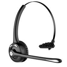 Грузовик драйвер Bluetooth гарнитура беспроводной офис над головой наушник микрофон Портативный подходит для смартфонов наушники