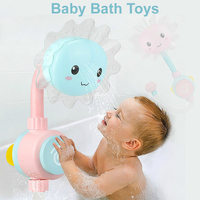 Newborn Baby Game Bathtub Sunflower Shower Water Spray Toy Children Kids Pool Swimming Bathtub Bath Bambino Artikelen Infants