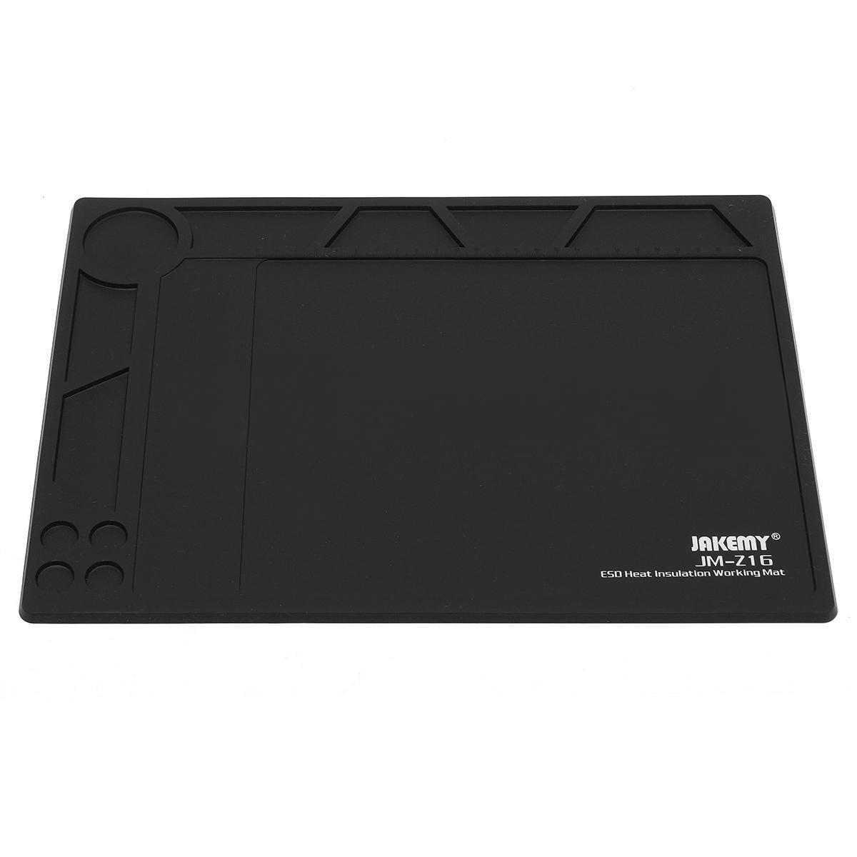 1 шт. черный Антистатический ESD Теплоизоляция Pad коврики одеяло телефон Планшетные ПК Ремонт