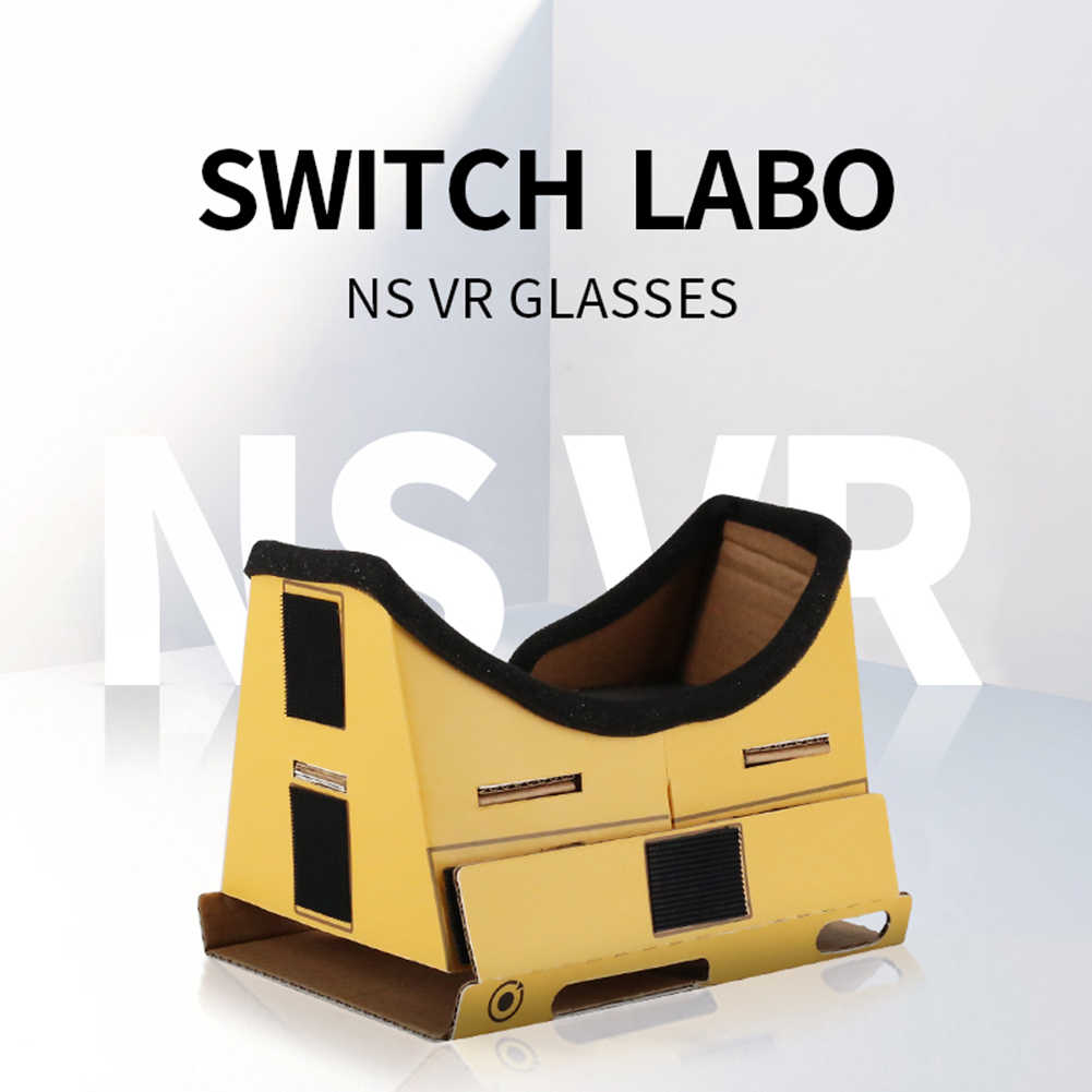 Новый переключатель картонный стиль DIY картон LABO виртуальной реальности VR коробка для Odyssey симулятор для NS консоли контроллера