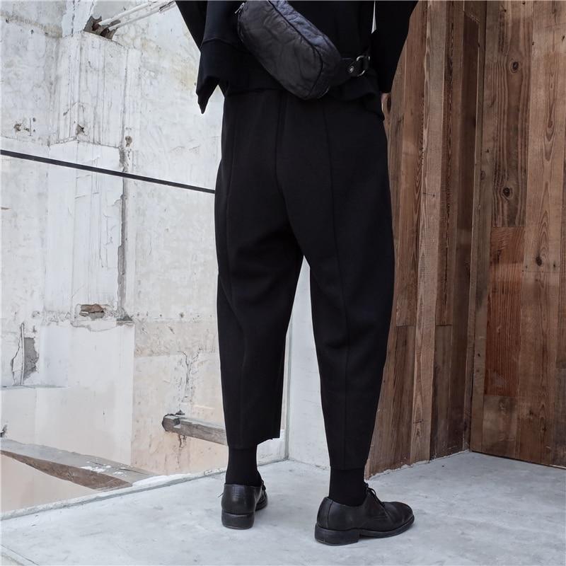 Moda Invierno Nuevo fósforo Todo Elástica Negro Grueso De Largo Cintura L172 Pantalones Mujeres Ocio Las Otoño Alta La 2019 Black Del Marea dSqaaw