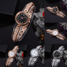 Crystal Bracelet Women Watch Quartz-Watches Ladies Fashion Watch Dress Watches Casual Business New Year Gift цены