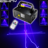 ESHINY 450mW Blue Laser Stage Lighting Scanner Beam DMX512 Effect Light Dance DJ Bar Disco Shop Party Xmas Show Remote B114D3