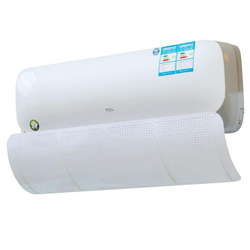 Deflector de ar Condicionado Ventosa Ajustável Defletor Anti-vento Escudos Guia de Vento para Casa Pendurado-Condicionador de Ar tipo WA003