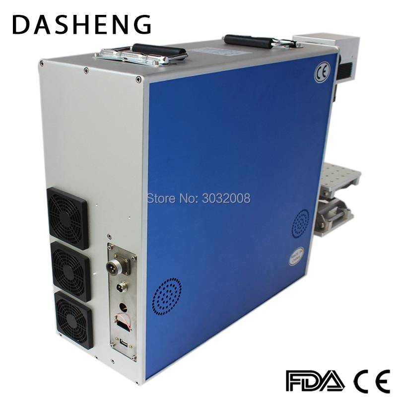 Low Cost Dynamic Focusing 3D Curved Fiber Laser Marking Machine Supply