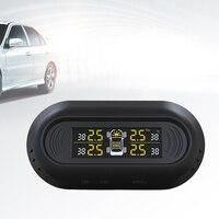 1 セットソーラーユーティリティ車のタイヤの圧力計センサーワイヤレスモニタリングシステムタイヤ空気圧測定モニター用車両|タイヤ圧 監視システム|   -