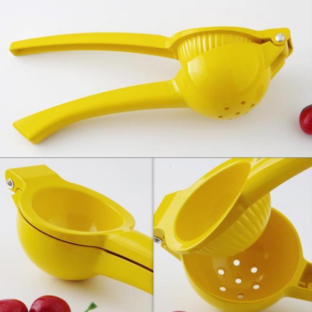 20*6*4CM outils de cuisine citron presse-agrumes en alliage d'aluminium Orange presse-agrumes jus de fruits alésoirs poignée rapide presse outil multifonctionnel 4
