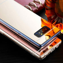 Mirror Soft TPU Silicone Cover For Samsung Galaxy S10 Plus S10e A6 A8 A7 A9 2018 J4 J6 J3 J5 Pro J7 Neo J2 Prime S8 S9 Plus Case(China)