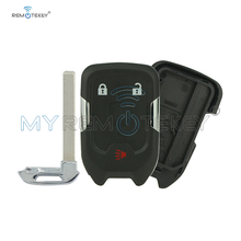 цена на Remtekey HYQ1EA 3 button Replacement smart key shell case for Chevrolet Suburban Tahoe 2015