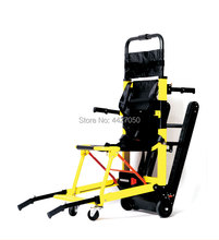 2019 Free shipping Aluminum alloy manual folding stretcher elderly stairs climbing electric wheelchair