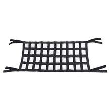 Черная ткань Оксфорд многофункциональная волшебная наклейка на крышу для хранения гамак защитная сетка на крышу 4X10 сетка подходит для Jeep Wrangler