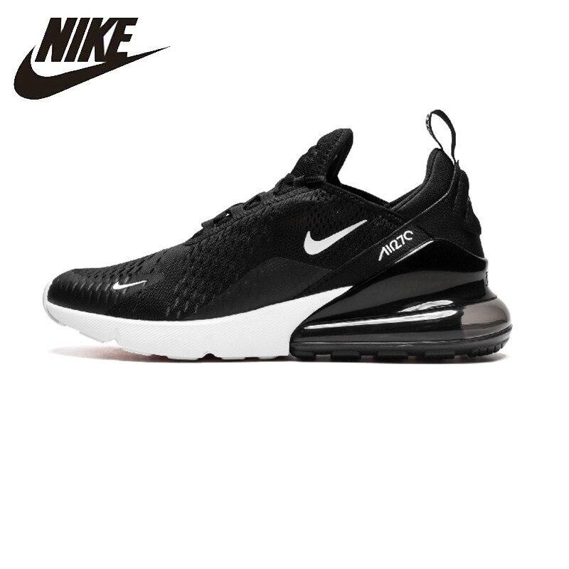 Nike Air Max 270 nouveauté coussin hommes chaussures de course Sports de plein Air antidérapant baskets originales # AH8050
