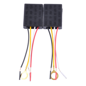 Image 2 - Mayitr 2pcs AC 100 240V 3 Way Touch Sensor Switch Desk light Parts Touch Control Sensor Dimmer For Bulbs Lamp Switch