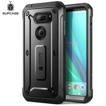 Case For LG V30 SUPCASE UB Pro Full-Body Rugged Holster Cover with Built-in Screen Protector For LG V30s,V30 Plus,V35,V35 ThinQ(China)