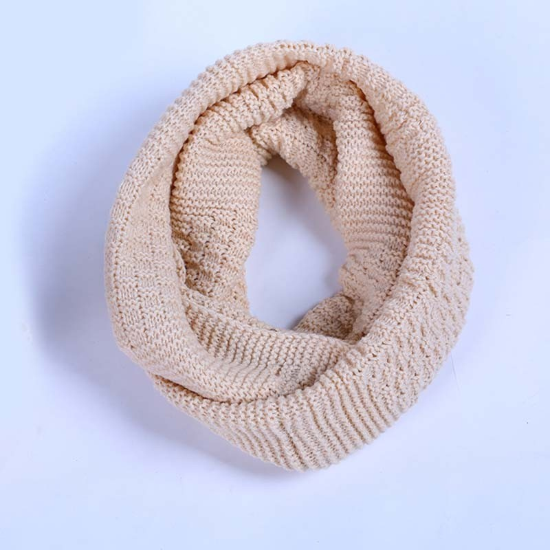 Efficient Kids Ring Scarf Winter Soft Cotton Infinity Baby Circle Neck Warmer Snood Scarves Apparel Accessories