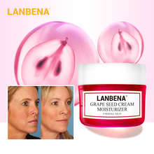 LANBENA Grape Seed Facial Cream Lifting Firming Deeply Repairing Nourishing Protecting Revitalizing Tighten Skin Face Care 40g