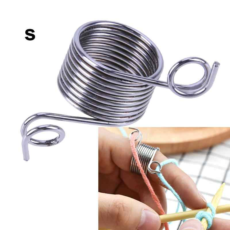 DIY Fingertip Easy Weaving Tools Stainless Steel Guide Crafts Knitting Stitch Needle Threader Sewing Tools Accessories Suppliers