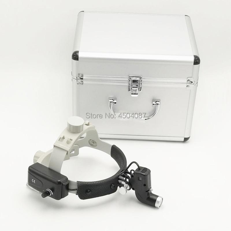 Wireless Medical Faro 5W Proiettori A LED Medico Dental Medical Surgical Faro Focusable Luce Spot con Alumium Box