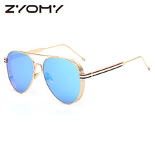 Goggles Toad Lens UV400 Brand Designer Retro Glasses Men Women Sunglasses Oculos De Sol Eyewear Accessories Metal Frame