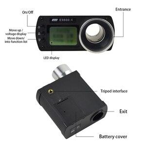 Image 2 - Medidor de velocidade precisão, instrumento de medição, tela lcd portátil, cronoscópio E9800 X, testador de velocidade