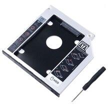 Универсальный SATA 2nd HDD HD SSD корпус карман для жесткого диска лоток, для 9,5 мм ноутбука CD/DVD-ROM оптический привод блока слот (для