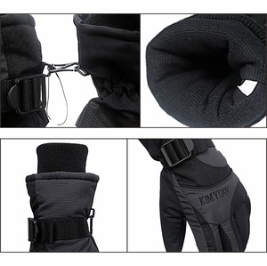 Image 4 - KIM YUAN Ski Snowboard Winter Gloves   Waterproof,3M Thinsulate, Cold Weather Gloves for Men & Women