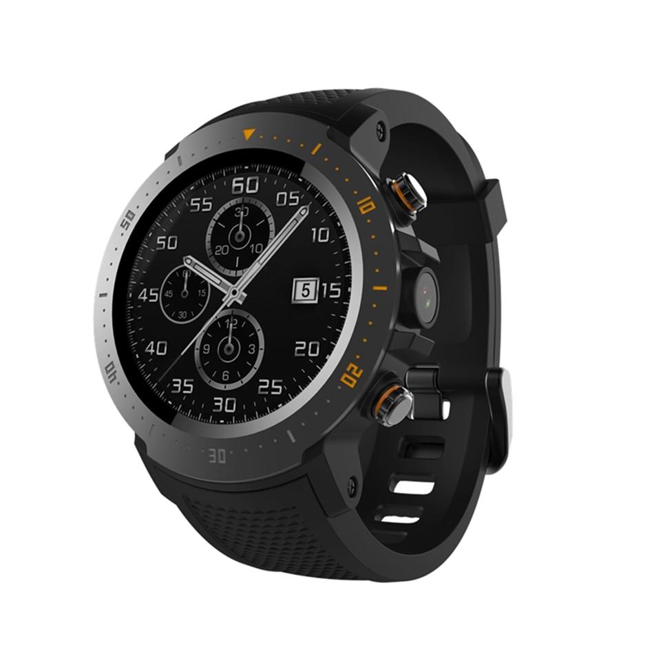 A4 Android 7,1 Смарт часы Для мужчин 4G 1,39 'AMOLED gps + BD Просмотрам WI FI IP67 индивидуальные циферблате приложение Рынок Smartwatch