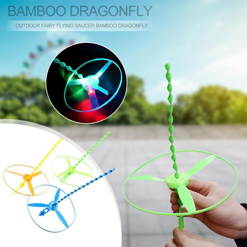 1pcs/small Children Outdoor Bamboo Dragonfly Category Toy Wholesale Gift Fairy F