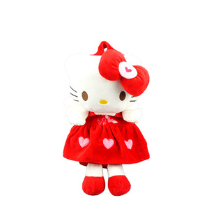 Backpack Kids Kitty Baby Plush Backpack Cute Cartoon Hello Kitty Cat Backpack Children Plush Animals Soft Toy School Bag 1-3y