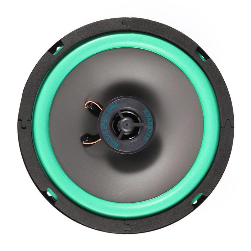 New VODOOL VO-602 6.5 Inch 80W Car Coaxial Speaker Auto Audio Music Loudspeaker Vehicle Car Auto Stereo Full Range Loudspeakers