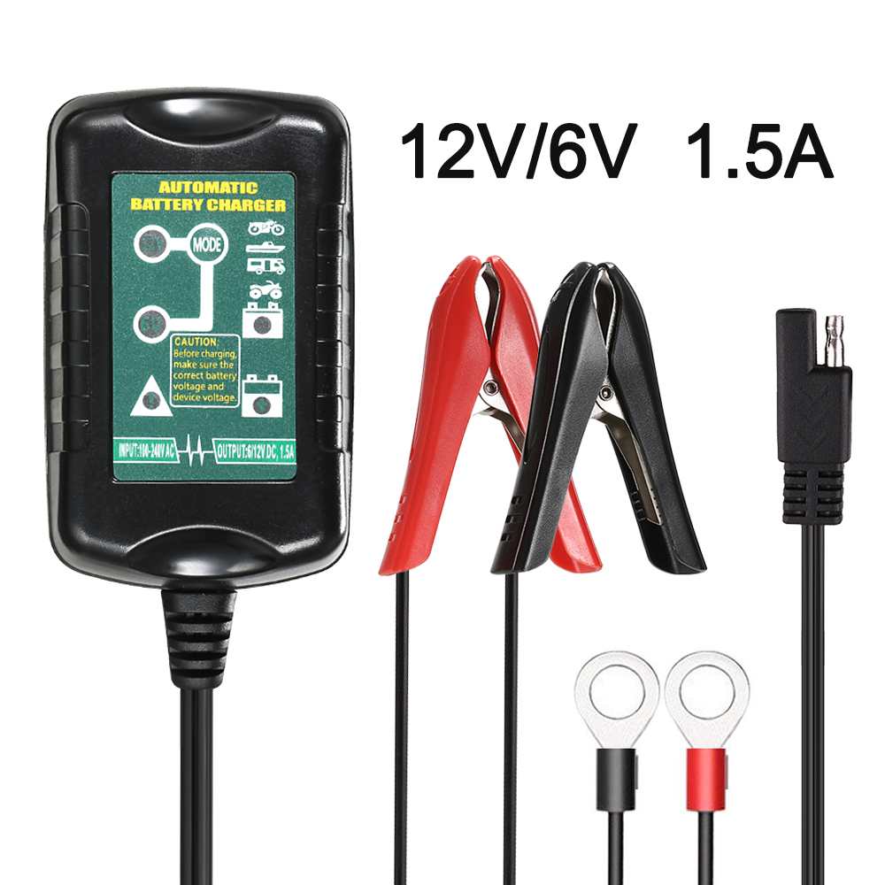 Fully Automatic Smart Battery Charger 6v 12v Volvo XC40