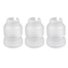10Pcs/Coupler Adaptor Icing Piping Nozzle Bag Set Cake Flower Pastry Tool Decorating Tools
