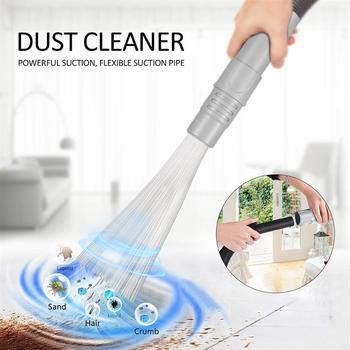 Dropshipping odkurzacz załącznik uniwersalna rura ssąca usuń brud sierść zwierząt zamiatarka pyłu tanie i dobre opinie Z tworzywa sztucznego Domu Vacuum Attachment Dust Cleaner
