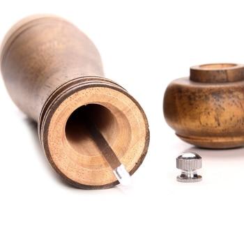 Wood Salt and Pepper Mill Set 3