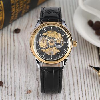 Przezroczyste ręcznie winding zegarki mechaniczne ze stali nierdzewnej z motywem szkieletu zegarki mechaniczne funkcja Luminous męski zegarek biznesowy tanie i dobre opinie Mechaniczne Zegarki Na Rękę Mechaniczna Ręka Wiatr STAINLESS STEEL Klamra Nie wodoodporne Brak Akrylowe W185501 Nie pakiet