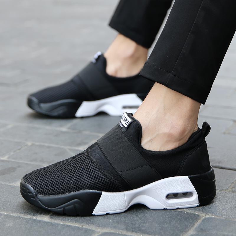ff983fc0b323 Spring Designer Wedges Black Platform Sneakers Women Shoes 2018 Tenis  Feminino Casual Air Mesh Female Shoes
