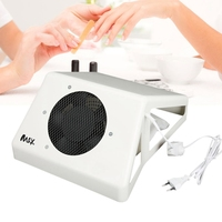 4 Types Strong Power Nail Art Dust Collector Nail Dust Suction Cleaner Machine With Fan Nails Tools