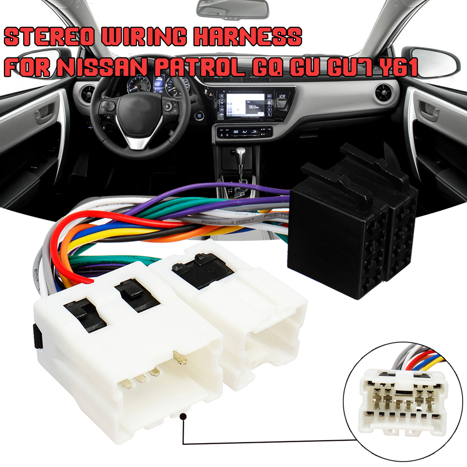 2000 nissan maxima antenna wiring car iso radio stereo wire cable harness adapter wiring connector  radio stereo wire cable harness adapter