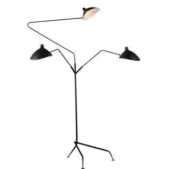 Replik Frei Gebogen Tripot LED Boden Lampe Lichter Mantis Arm Stehend Lampe Loft Industrie Schlafzimmer Decor Stehend Lampe Für Home