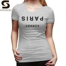 c8cb7c644ce1c J aime Ny T-Shirt Paris France Minimaliste Upside-Down-À La Mode T Shirt  Simple Street Wear tshirt de femmes Dames tee-shirt