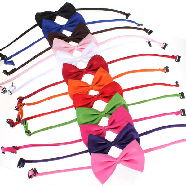 1Pcs Adjustable Dog Cat Bow Tie Fashion Cute Dog Cat Pet Puppy Toy Kid Cute Bow Tie Necktie