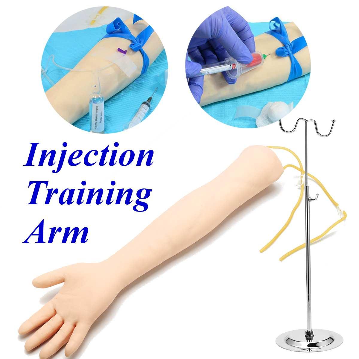 IV práctica brazo flebotomía MODELO DE venipuntura con soporte brazo adulto entrenamiento de venipuntura Escuela Educación modelo médico nuevo